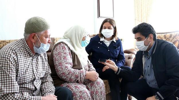 Bakan Soylu, şehit annesinin Anneler Günü'nü kutladı