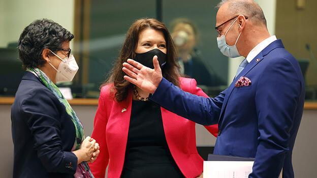 AB ülkelerinin dışişleri bakanları Brüksel'de toplandı