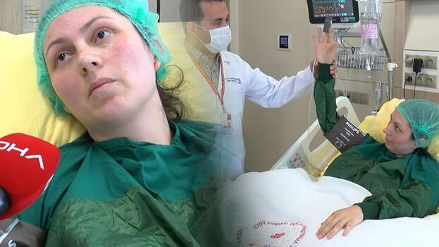 13 haftalık hamile kadın koronavirüsü atlattıktan sonra inme geçirdi
