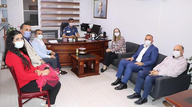 AK Parti İzmir Milletvekili Çankırı, kadın polisleri ziyaret etti