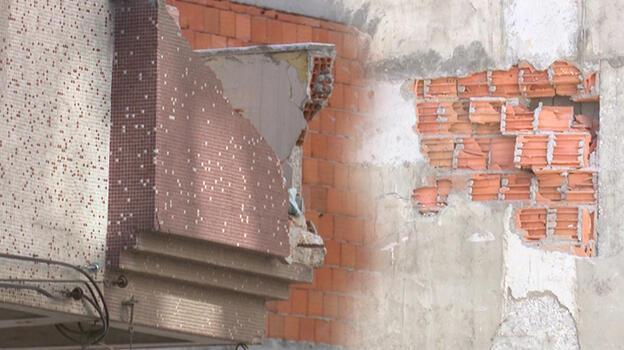 Zeytinburnu'nda çöken binanın bitişiğindeki bina yıkılacak