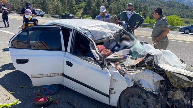 Kahramanmaraş'ta feci kaza! Aynı aileden 4 kişi öldü