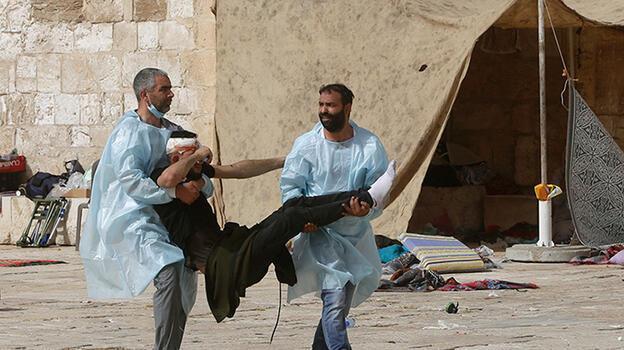 Son dakika... Gazze Şeridi'nde gerçekleşen patlamada 3'ü çocuk 9 Filistinli şehit oldu
