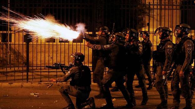 Son dakika... AA editörü İsrail polisi tarafından plastik mermiyle vuruldu!