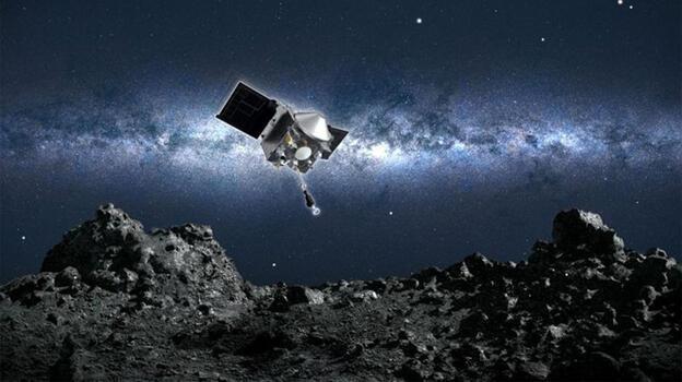 4.5 milyar yaşındaki asteroidden numune alan uzay aracı Dünya'ya dönüşe geçti
