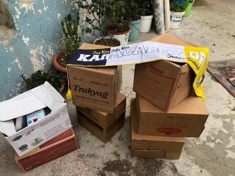 Karacabey Genç Fenerbahçeliler, 250 aileye gıda yardımı yaptı