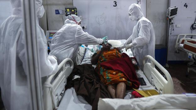 Hindistan'da koronavirüs vakaları iki haftadır en düşük seviyeye indi