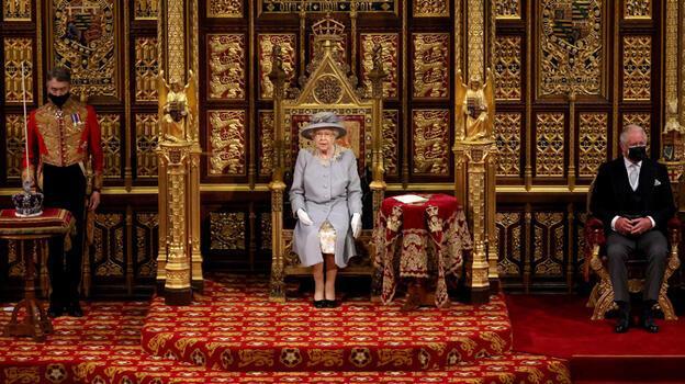 Kraliçe Elizabeth, Prens Philip'in ölümünden sonra ilk kez büyük bir etkinliğe katıldı