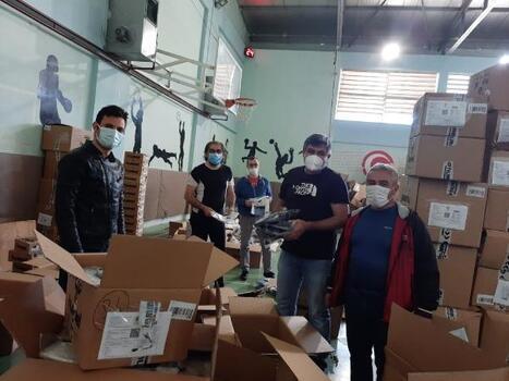 Tokat'ta 6 bin 500 çocuğa bayram hediyesi