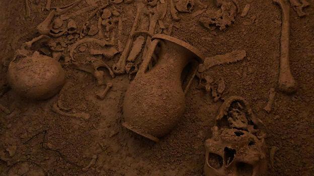 İnşaat kazısından tarih çıktı! 2 bin 400 yıl öncesine ait...