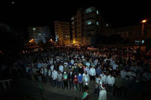 Siverek'te, İsrail protestosu