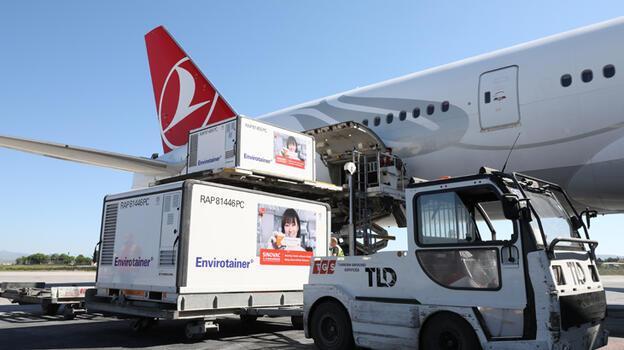 Son dakika... Yeni parti Çin aşısını yaşıyan uçak Esenboğa'ya indi