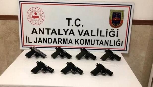 Silah kaçakçılığı operasyonuna 2 gözaltı