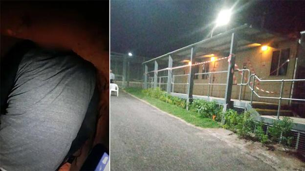 Gözaltı merkezinin altında bulundu! 20 metrelik kaçış tüneli