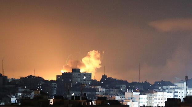 Son dakika: Gazze'ye yoğun bombardıman! Can kayıpları artıyor
