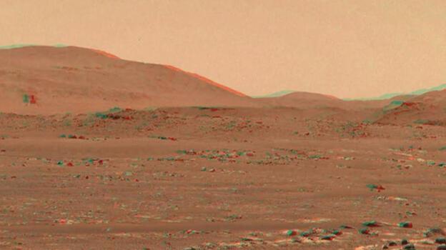 Son dakika! Mars'ta inanılmaz görüntü! Videosu yayınlandı