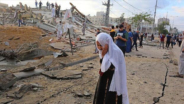 İsrail'in Gazze Şeridi'ne düzenlediği saldırılarda şehit sayısı 83'e yükseldi