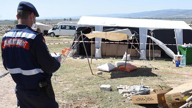 Son dakika... Mevsimlik işçi çadırına 'koronavirüs' karantinası