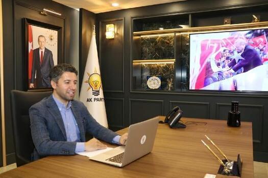 AK Parti Adana İl Başkanlığı'ndan video konferans yoluyla bayramlaşma