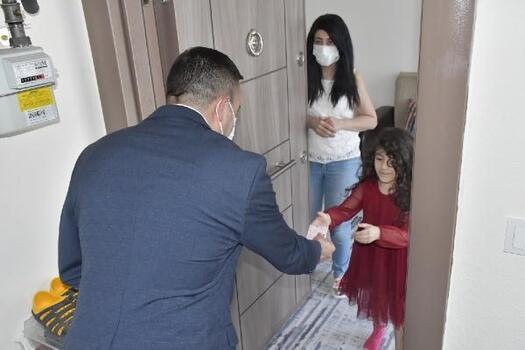 Biga Belediye Başkanı Erdoğan'dan bayram ziyareti