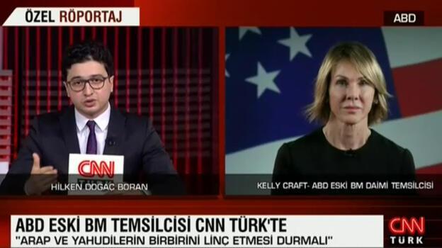 Kelly Craft CNN TÜRK'e konuştu: Türkiye'nin adımı ezber bozar