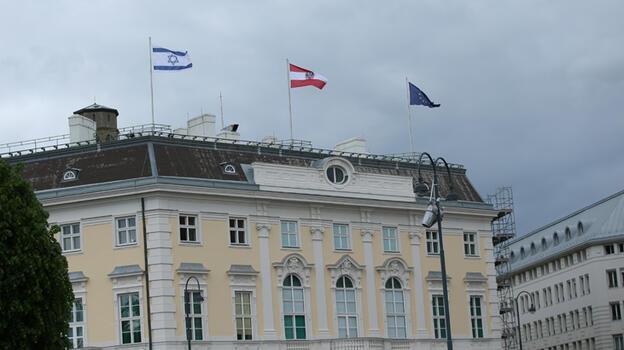 Avusturya'da İsrail bayrağı skandalı
