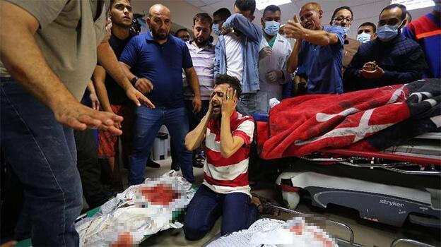 İsrail ordusunun Gazze'ye düzenlediği saldırıda 8 kişi daha şehit oldu