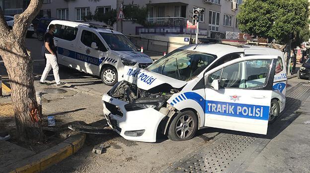 Son dakika haberi: İzmir'de kaza! İki polis yaralandı