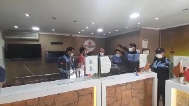 Para transfer merkezine şok baskın! Ekipler böyle mühürledi