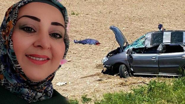 Takla atan otomobilin sürücüsü kadın hayatını kaybetti