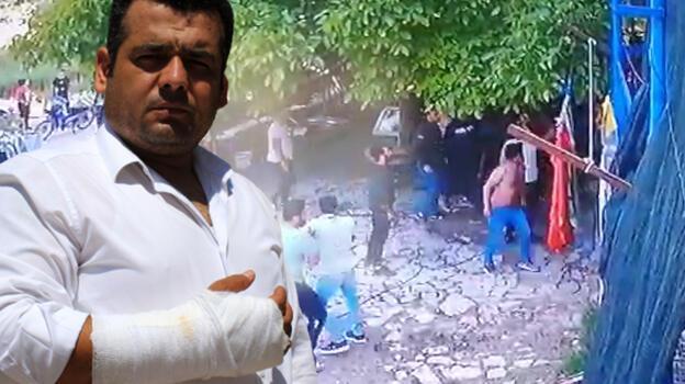 'Evin önünde neden durdunuz' diyen aileye 30 kişi saldırdı!
