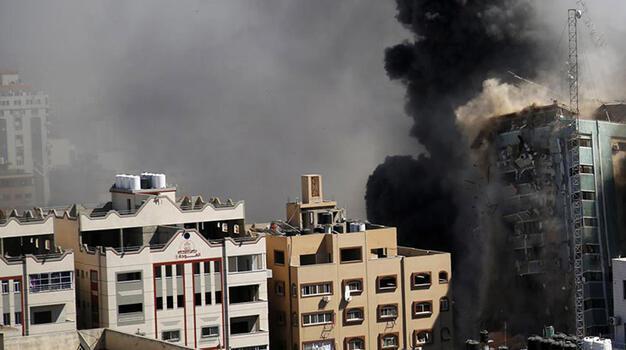 Son dakika... Netanyahu sivil binanın vurulması için 'meşru hedef' dedi!