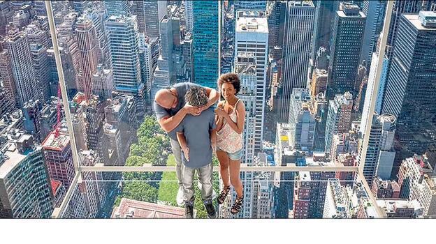 'Yükseliş' asansörüyle New York'a kuş bakışı