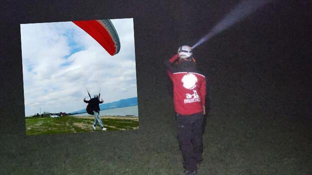 500 kişi onu arıyor! Paraşütle atladı gözden kayboldu
