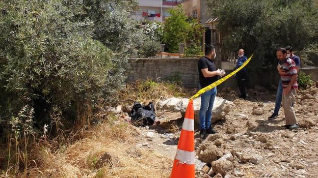 Mersin inşaat alanında kadın cesedi bulundu