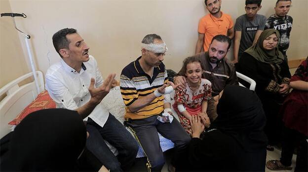 Yürek dayanmaz! Filistinli baba dünyaya seslendi