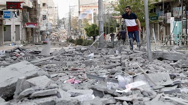 Son dakika... BM: 38 binden fazla Filistinli yerinden edildi!