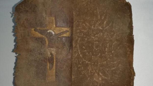 Kırıkkale'de ceylan derisi üzerine Aramice yazılmış tarihi İncil ele geçirildi