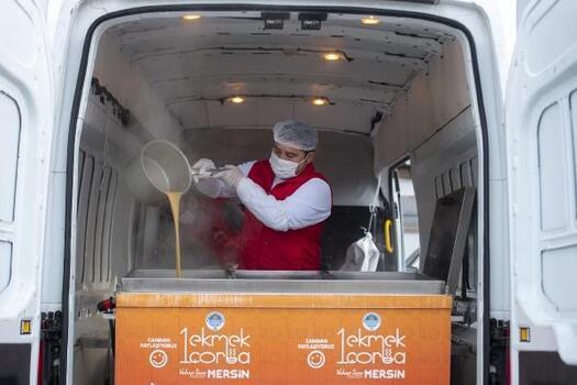 Hava ısındı, '1 Ekmek 1 Çorba' hizmeti sezonu kapattı