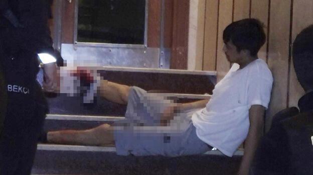 Tartıştığı kardeşini bacağından silahla vurdu