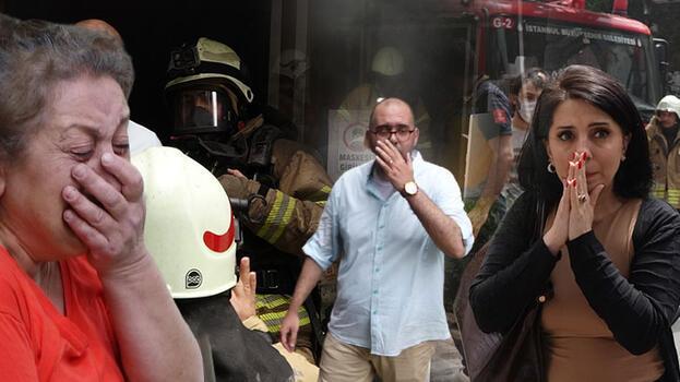 Son dakika: İstanbul'da büyük korku! Ağlayarak izlediler