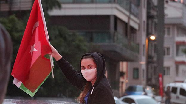 İstanbul'da Kudüs'e destek konvoyu! İsrail'i protesto ettiler