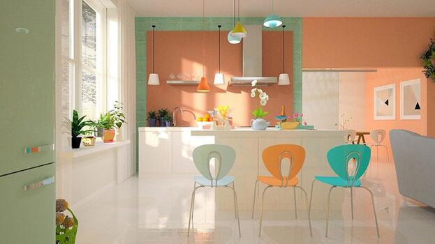 Mutfağınızı yaz güneşi ve neşesiyle renklendirin