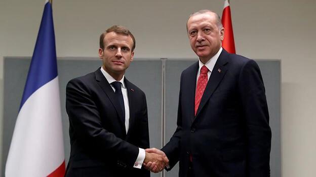 Son dakika: Cumhurbaşkanı Erdoğan ile Macron görüşecek