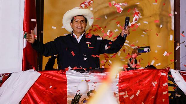 Peru'da seçimin galibi belli oldu!