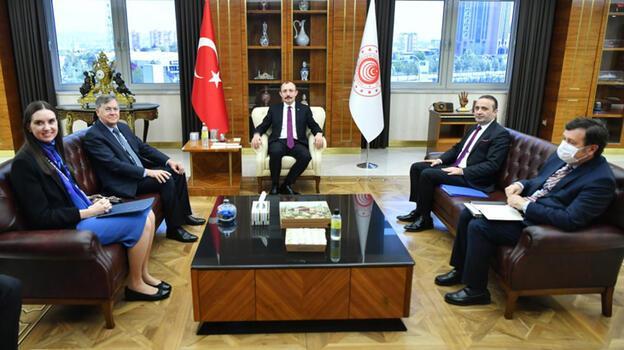 Ticaret Bakanı Muş, ABD'nin Ankara Büyükelçisi ile görüştü