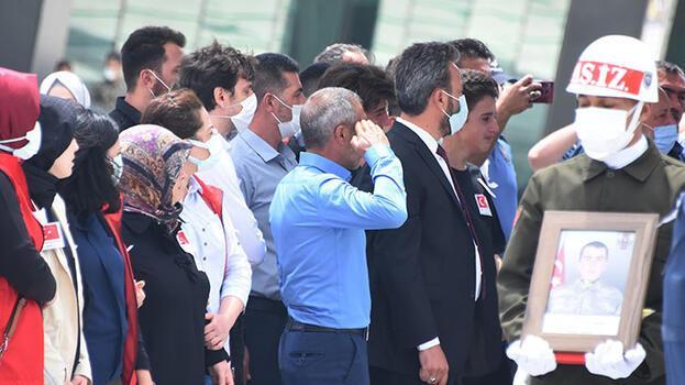 Şehit Akın'ın cenazesi Konya'da