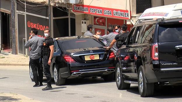 Üsküdarlılardan Cumhurbaşkanı Erdoğan'a teşekkür! Makam aracını tam 8 kez durdurdular