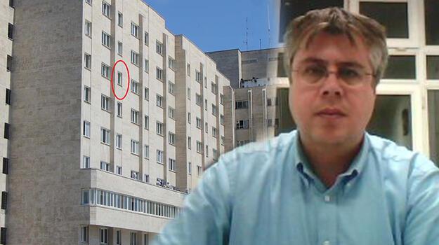 Tedavi gördüğü hastanenin 8'nci katından düşen akademisyen hayatını kaybetti!