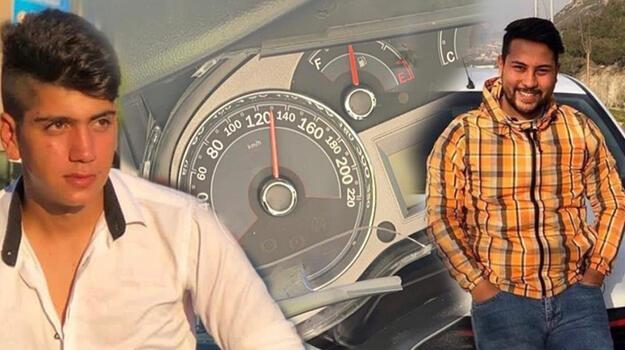 3 kişinin öldüğü otomobilin hız ibresi 130 kilometrede takılmış